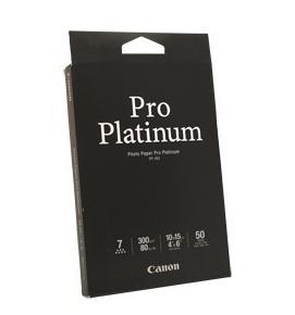 Canon Photo Paper Pro Platinum  6 x 4  50 Sheets - 300gsm