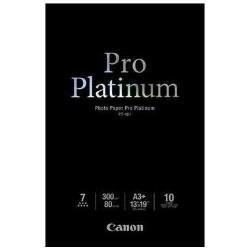 Canon Photo Paper Pro Platinum A3+ 10 Sheets - 300gsm