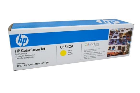 HP 125A / CB542A Yellow Toner Cartridge